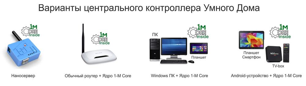 программное обеспечение умный дом